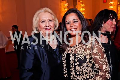 Melanne Verveer, Sandra Gomes Melo. Photo by Tony Powell. Vital Voices Global Leadership Awards. Kennedy Center. April 2, 2013