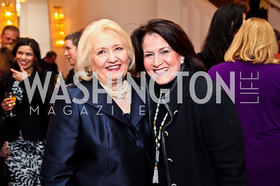 Melanne Verveer, Anita McBride. Photo by Tony Powell. Vital Voices Global Leadership Awards. Kennedy Center. April 2, 2013