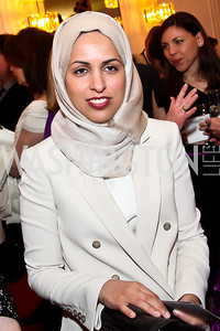 Sheikha Alya Al-Thani. Photo by Tony Powell. Vital Voices Global Leadership Awards. Kennedy Center. April 2, 2013