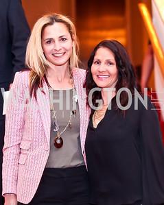 Ami Aronson, Sarah Schain. Photo by Tony Powell. Vital Voices Global Leadership Awards. Kennedy Center. April 2, 2013