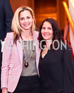 Ami Aronson, Sarah Schain. Photo by Tony Powell. Vital Voices Global Leadership Awards. Kennedy Center. April 2, 2013