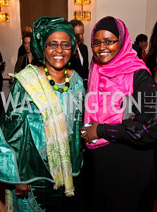Dr. Hawa Abdi, Dr. Deqo Mohamed. Photo by Tony Powell. Vital Voices Global Leadership Awards. Kennedy Center. April 2, 2013