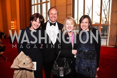 Rachel Pearson, Robert Van Heuvelen, Liz Murray, Catheryn Rand. Photo by Tony Powell. Vital Voices Global Leadership Awards. Kennedy Center. April 2, 2013
