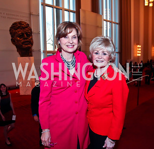Kitty Lansdale, Kitty Kelley. Photo by Tony Powell. Vital Voices Global Leadership Awards. Kennedy Center. April 2, 2013