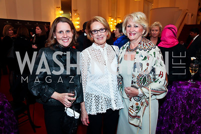 Kristin Carlucci Weed, Marcia Carlucci, Maggie Shannon. Photo by Tony Powell. Vital Voices Global Leadership Awards. Kennedy Center. April 2, 2013