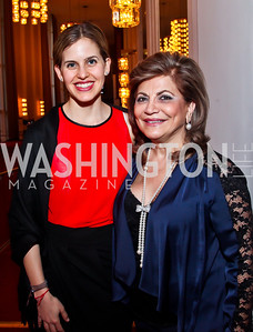 Ronit Gudes, Annie Totah. Photo by Tony Powell. Vital Voices Global Leadership Awards. Kennedy Center. April 2, 2013