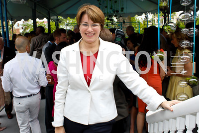 Minnesota Senator Amy Klobuchar. Photo by Tony Powell. 2013 WHC Allbritton Brunch. Bowie-Sevier House. April 28, 2013