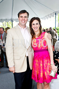 Jonathan Martin and Betsy Fischer Martin. Photo by Tony Powell. 2013 WHC Allbritton Brunch. Bowie-Sevier House. April 28, 2013