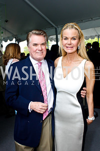 Jack and Susanna Quinn. Photo by Tony Powell. 2013 WHC Allbritton Brunch. Bowie-Sevier House. April 28, 2013