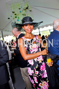ABC-7's Cynne Simpson. Photo by Tony Powell. 2013 WHC Allbritton Brunch. Bowie-Sevier House. April 28, 2013