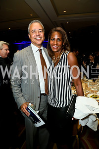 Bill and Daphne Jarvis. Photo by Tony Powell. 2013 WTEF Tennis Ball. Ritz Carlton. May 10, 2013