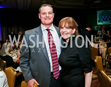 Steve Soucek, Susan Davis. Photo by Tony Powell. 2013 WTEF Tennis Ball. Ritz Carlton. May 10, 2013