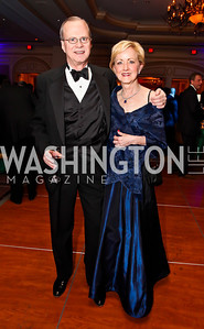Stuart and Ann Stock. Photo by Tony Powell. WPAS Annual Gala & Auction. Ritz Carlton Hotel. April 13, 2013