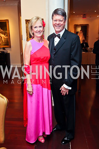 Susan and Doug Cowart. Photo by Tony Powell. WPAS Annual Gala & Auction. Ritz Carlton Hotel. April 13, 2013
