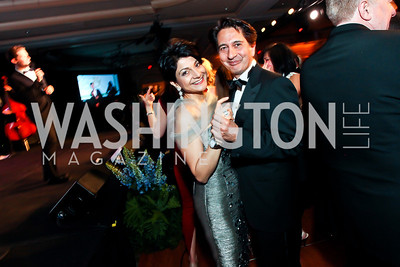 Shamim and Said Jawad. Photo by Tony Powell. WPAS Annual Gala & Auction. Ritz Carlton Hotel. April 13, 2013