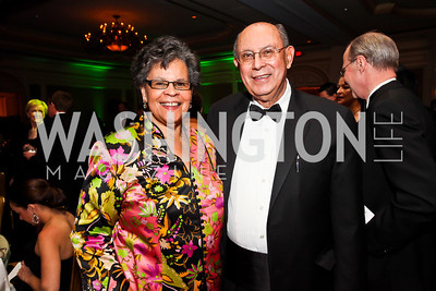 Charlene Drew Jarvis, DeMaurice Moses. Photo by Tony Powell. WPAS Annual Gala & Auction. Ritz Carlton Hotel. April 13, 2013