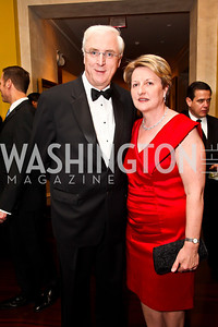 Diplomatic Chairs Irish Ambassador Michael Collins and Marie Collins. Photo by Tony Powell. WPAS Annual Gala & Auction. Ritz Carlton Hotel. April 13, 2013