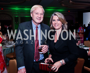 Chris and Kathleen Matthews. Photo by Tony Powell. WPAS Annual Gala & Auction. Ritz Carlton Hotel. April 13, 2013