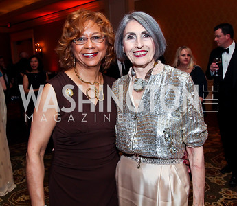 Catherine Leggett, Carol Trawick. Photo by Tony Powell. WPAS Annual Gala & Auction. Ritz Carlton Hotel. April 13, 2013