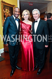 WPAS Board Chair Reggie Van Lee, Gwendolyn Bluemich, Carl Colby. Photo by Tony Powell. WPAS Annual Gala & Auction. Ritz Carlton Hotel. April 13, 2013