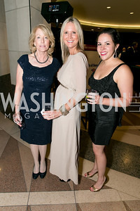 Jane Zipeli, Priscilla Cooney, Hannah Marshall. Photo by Alfredo Flores. 2013 White Hat Gala. Ronald Reagan Building. October 24, 2013.