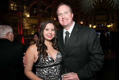 Courtney Noles, Cole Smith. Photo by Alfredo Flores. 2013 White Hat Gala. Ronald Reagan Building. October 24, 2013.