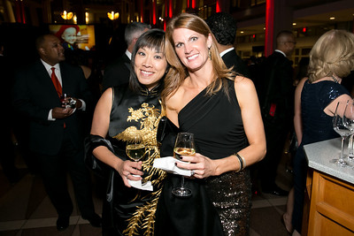 Denise Lippuner, Amelia Trout. Photo by Alfredo Flores. 2013 White Hat Gala. Ronald Reagan Building. October 24, 2013.