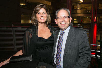 Angie Zecca, Ken Zecca. Photo by Alfredo Flores. 2013 White Hat Gala. Ronald Reagan Building. October 24, 2013.