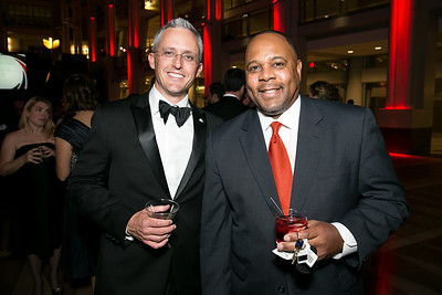 David Trent, Kevin Williams. Photo by Alfredo Flores. 2013 White Hat Gala. Ronald Reagan Building. October 24, 2013.