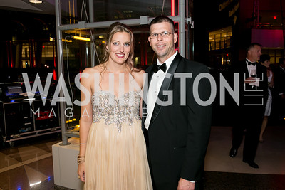 Katie Trull, Jonathan Trull. Photo by Alfredo Flores. 2013 White Hat Gala. Ronald Reagan Building. October 24, 2013.