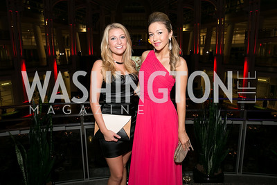 Roxanne Bannon, Dina Shaminova. Photo by Alfredo Flores. 2013 White Hat Gala. Ronald Reagan Building. October 24, 2013.