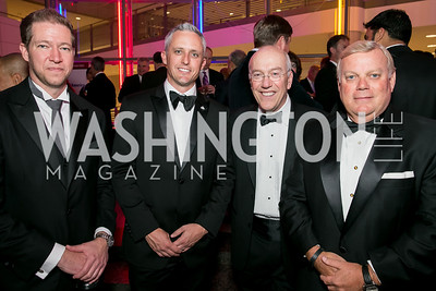 Paul Innella, Daniel Trent, Kurt Newman, Jeff Wood. Photo by Alfredo Flores. 2013 White Hat Gala. Ronald Reagan Building. October 24, 2013.