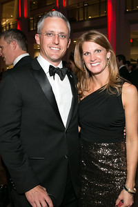 David Trout, Amelia Trout. Photo by Alfredo Flores. 2013 White Hat Gala. Ronald Reagan Building. October 24, 2013.