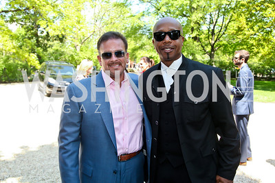 Raul Fernandez, MC Hammer. Photo by Tony Powell. WHC Garden Brunch. Beall-Washington House. April 27, 2013