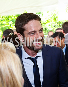 Actor Gerard Butler. Photo by Tony Powell. WHC Garden Brunch. Beall-Washington House. April 27, 2013