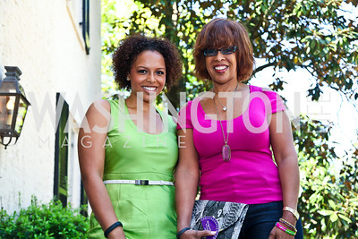Kirby and Gayle King. Photo by Tony Powell. WHC Garden Brunch. Beall-Washington House. April 27, 2013