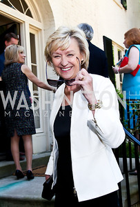 Tina Brown. Photo by Tony Powell. WHC Garden Brunch. Beall-Washington House. April 27, 2013