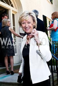 Tina Brown. Photo by Tony Powell. WHC Garden Brunch. Beall-Washington House. April 27, 2013