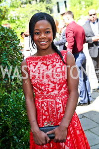 Olympic Gymnast Gabby Douglas. Photo by Tony Powell. WHC Garden Brunch. Beall-Washington House. April 27, 2013