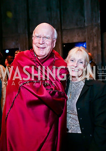 Sen. Patrick Leahy and Marcelle Leahy. Photo by Tony Powell. Will on the Hill. Harman Center for the Arts. May 6, 2013
