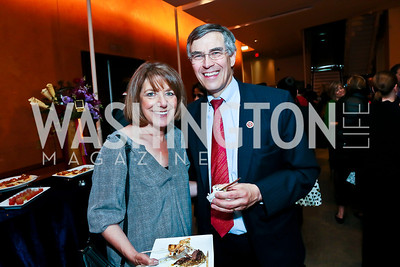 Rep. Susan Davis, Rep. Rush Holt. Photo by Tony Powell. Will on the Hill. Harman Center for the Arts. May 6, 2013