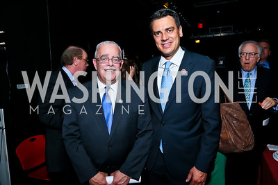 Rep. Gerry Connelly, Rep. Kevin Yoder. Photo by Tony Powell. Will on the Hill. Harman Center for the Arts. May 6, 2013