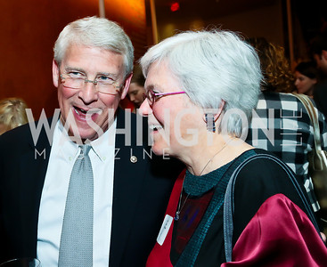 Sen. Roger Wicker, Janice Gregory. Photo by Tony Powell. Will on the Hill. Harman Center for the Arts. May 6, 2013