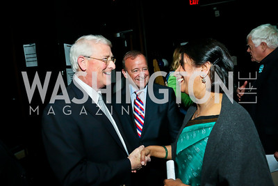 Sen. Roger Wicker, Will on the Hill Committee Co-Chair Stephen Ryan, Indian Amb. Nirupama Rao. Photo by Tony Powell. Will on the Hill. Harman Center for the Arts. May 6, 2013