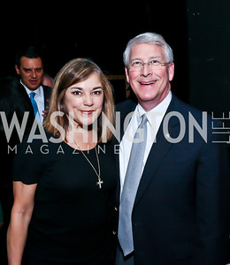 Rep. Loretta Sanchez, Sen. Roger Wicker. Photo by Tony Powell. Will on the Hill. Harman Center for the Arts. May 6, 2013