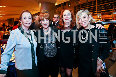 Barbara Boggs, Reba Immergut, Marla Allard, Susan Harris. Photo by Tony Powell. Will on the Hill. Harman Center for the Arts. May 6, 2013