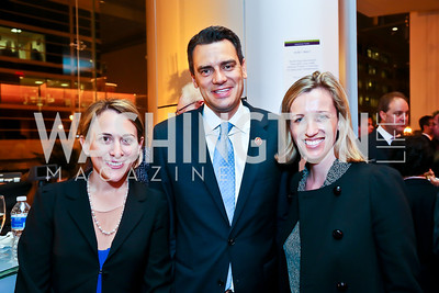 Jill Canino, Rep. Kevin Yoder, Jessica Grounds. Photo by Tony Powell. Will on the Hill. Harman Center for the Arts. May 6, 2013