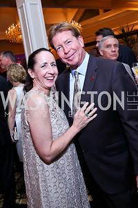 Stephanie and Dale McHenry. Photo by Tony Powell. 2013 Wings of Hope Gala. Trump National Golf Club. November 9, 2013