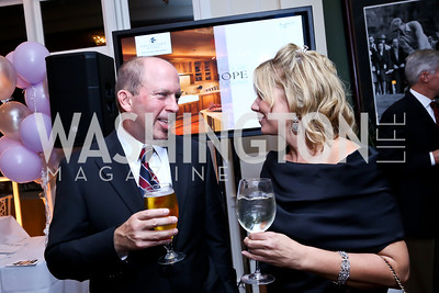 Don Moran, Camille Battaglia. Photo by Tony Powell. 2013 Wings of Hope Gala. Trump National Golf Club. November 9, 2013
