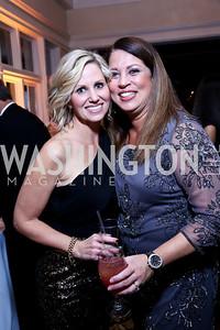 Juliana Miller, Melanie Love. Photo by Tony Powell. 2013 Wings of Hope Gala. Trump National Golf Club. November 9, 2013